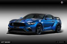 2016 concept vehicles | Shelby Gt 500R Concept Car 2016 by jhonconnor on DeviantArt