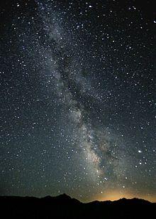 Milky Way Night Sky Black Rock Desert Nevada - Milky Way - Wikipedia, the free…