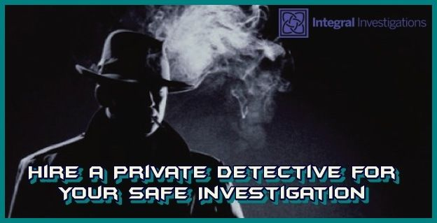 Are you finding someone, who helps for your Safe Investigation? Hire a private detective for your all types of cases,  integral investigations have a professional and best teams for investigation. Meet and discuss your case with us.