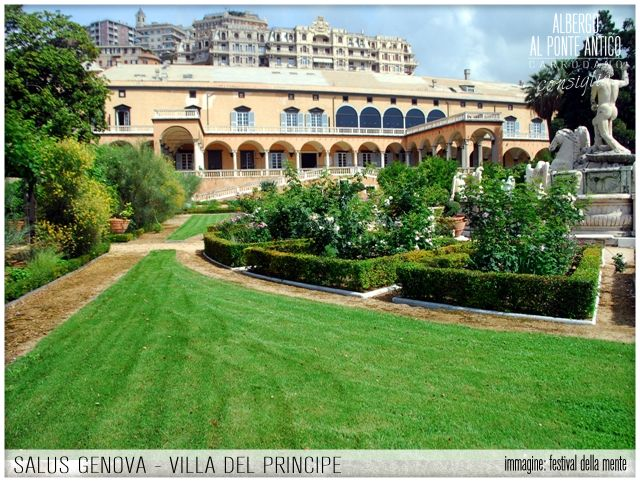 Salus Genova - Genova - Albergo Al Ponte Antico Carrodano - Villa del Principe