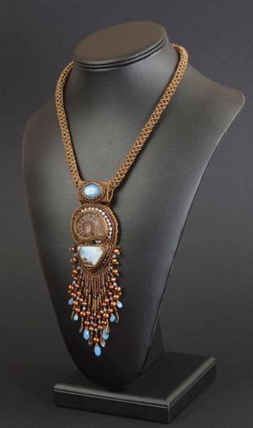 Spectacular beadwork by Nancy Dale