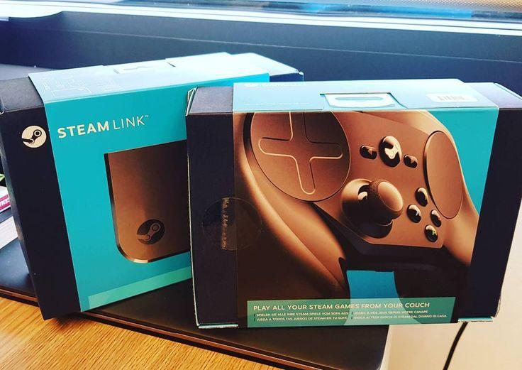 Hoy me ha llegado un autoregalo muy friki/geek/jugón - Today arrived a nice self present  #steam #link #steamlink #controller #playonTV