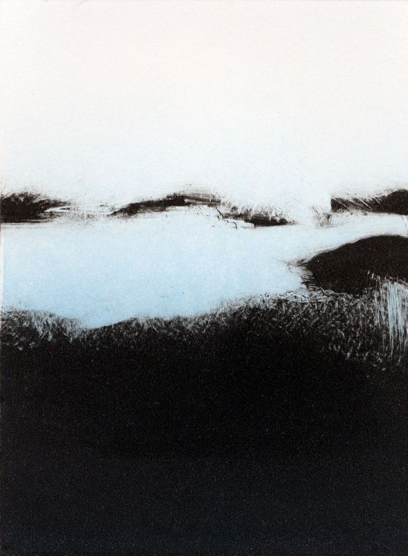 Tekla McInerney's Monotypes Are Striking Prints Of A Wild Landscape