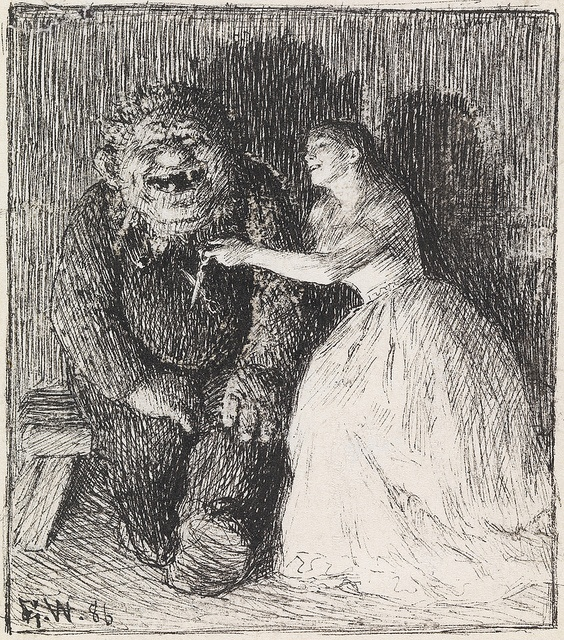Theodor Kittelsen - From 'The Companion,' Erik Swerenskiold, 1886 by Aeron Alfrey, via Flickr