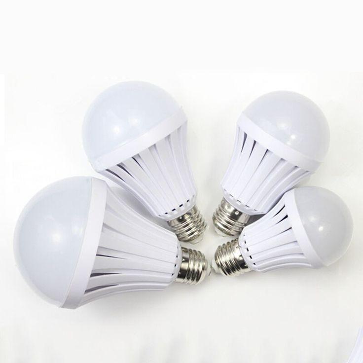 LED Emergency Light Bulb Emergency Bulb Automatic Charging 5/7/9/12W Rechargeable Battery E27 Lamp LS