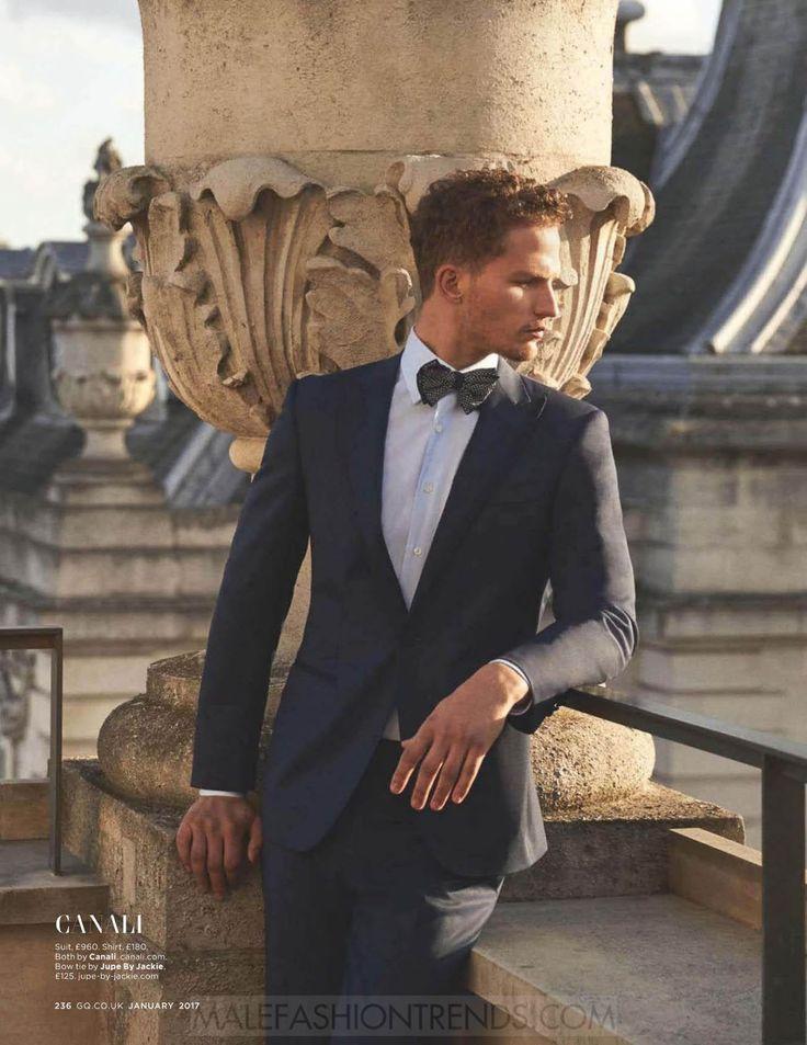 Nathaniel Viser (Select Models Management) es capturado por el lente de Arnadlo Anaya-Lucca para el número de enero de British GQ