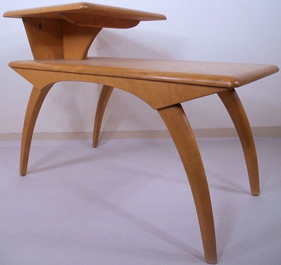 Heywood Wakefield Tiered Table This Is Like My End Tables.
