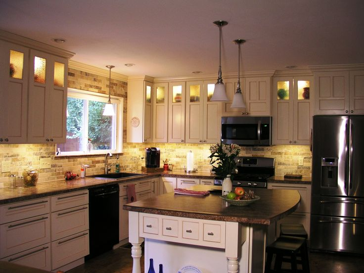 Illuma Flex Track Lighting Installed In A Kitchen From: 168 Best Inspired LED Around The Home And Business Images