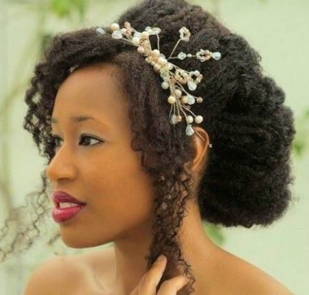 17 Awesome Natural Hairstyles for Weddings | MommyNoireMommyNoire