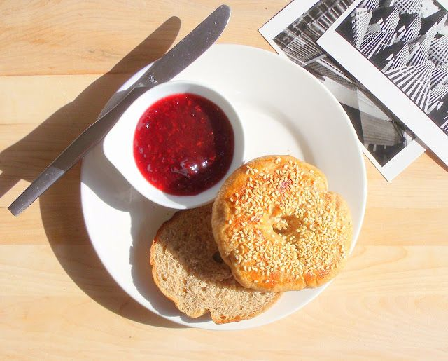 The Edible Woman: New York Sesame Seed Bagels