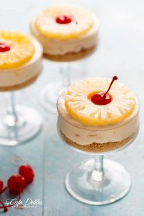 No Bake Pineapple Cheesecake is a refreshing dessert you'll totally enjoy. Rich, creamy, and delightful!