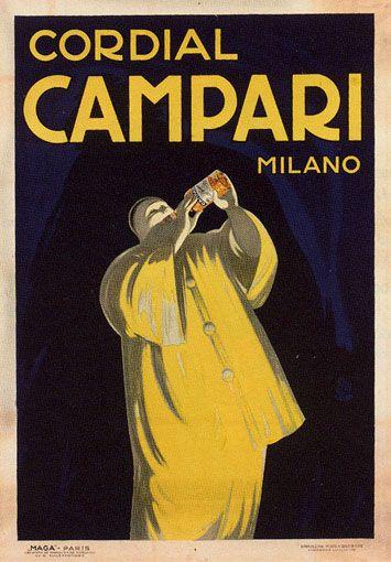 Cordial Campari Milano poster