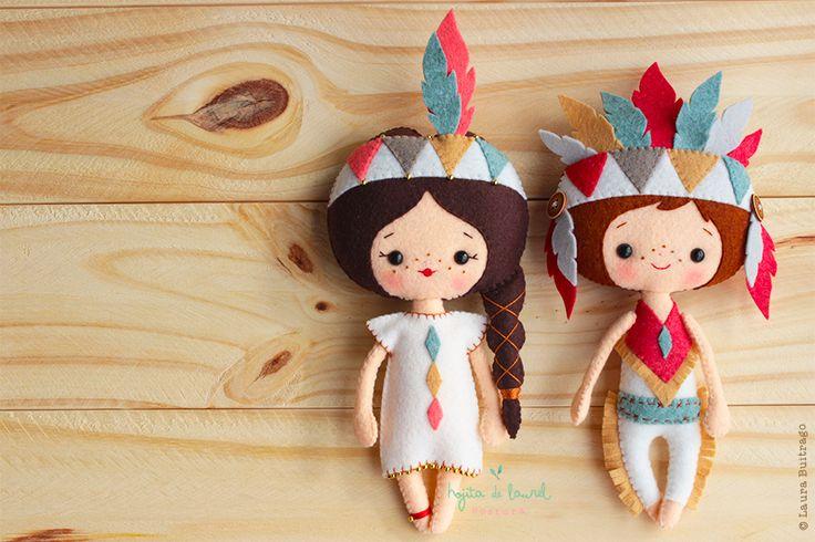 Con el espíritu de los aborígenes, Little Tree y Little Moon representan valentía y lealtad!... y están listos para acompañar tus días y darte toda su fuerza!!