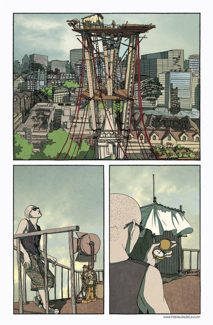 Freak Angels' viewing tower