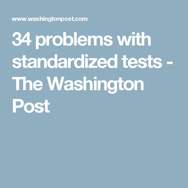 america must eliminate standardized tests and reduce homework Washington (ap) — aiming to reduce test-taking in america's classrooms, the obama administration released final rules wednesday to help states and school districts take a new approach to the standardized tests students must take each year.