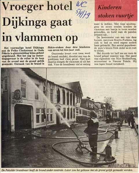 1979 Hotel Dijkinga