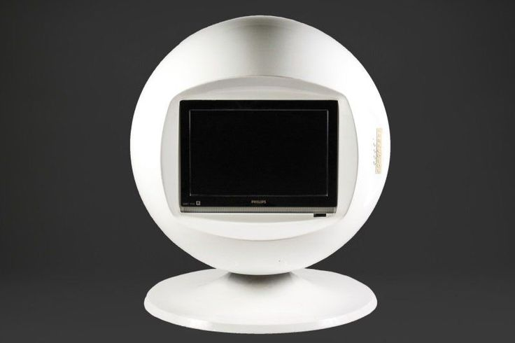 VINTAGE KERACOLOR SPACE AGE BALL SPHERE TV RETRO 60s 70s AARNIO COLOMBO EAMES #Keracolor