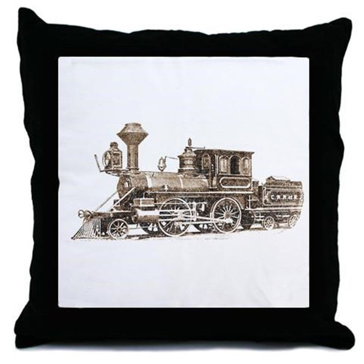 Classic Train Throw Pillow *** Review more details here (This is an amazon affiliate link. I may earn commission from it)
