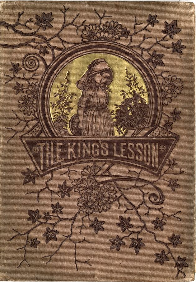 The Kings Lesson...inscription for 1884