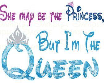 Disney Queen Disney Frozen Printable Image for Iron On Transfer DIY Disney Trip Halloween Anna Elsa Olaf