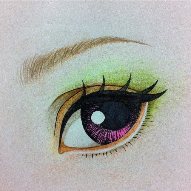 Study(for repainting dolls) #eye