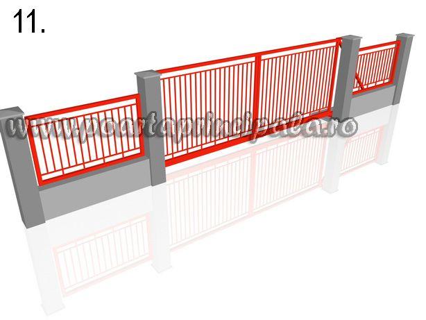 Porti autoportante Poarta glisante in consola