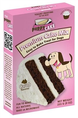 Puppy Cake Mix and Frosting - Carob Flavored