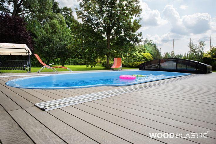 Moderní #terasa FOREST GREY od WoodPlastic®