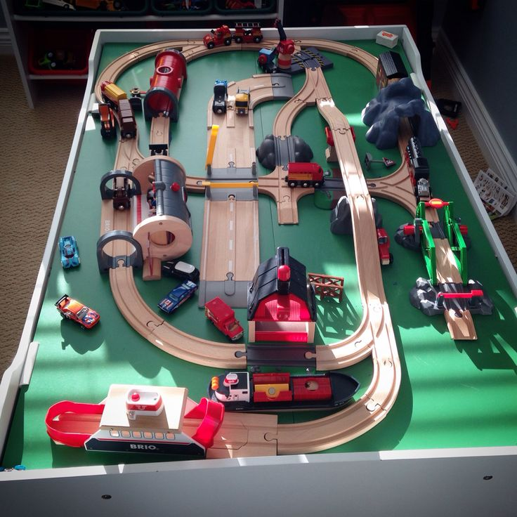 Brio train track layout ideas & 10 best Brio Train Layout Ideas images on Pinterest | Toy trains ...