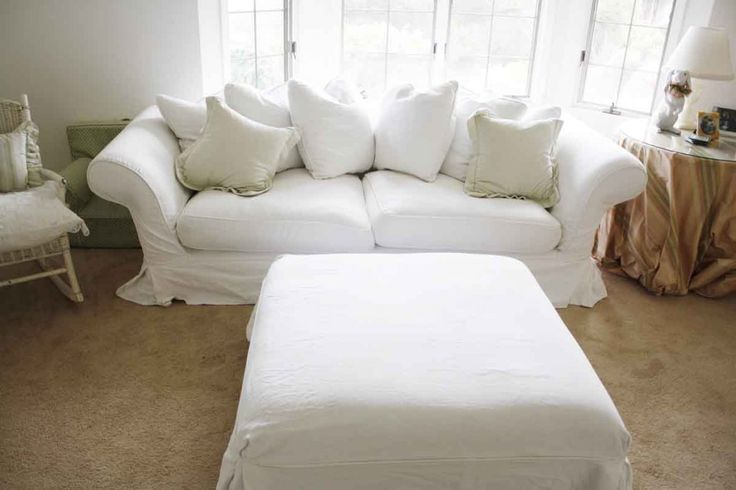 17 best images about white slipcovers on pinterest custom slipcovers shabby chic and couch. Black Bedroom Furniture Sets. Home Design Ideas