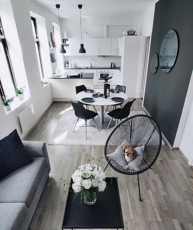 Kleine Wohnung Wohnung Wohnzimmer Wohnung Einrichten Und Kleine