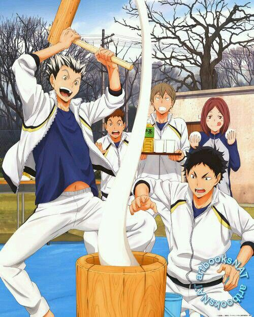 #anime #haikyuu #otaku #art #volleydorks #fukurodani #spokon #manga