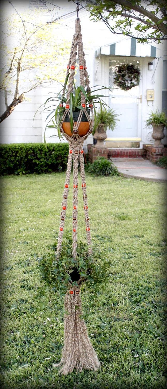 Macrame Duo Plant Hanger