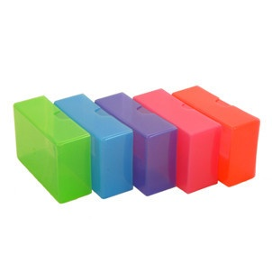 11 best business card file box images on pinterest business cards colour plastic business card box reheart Images