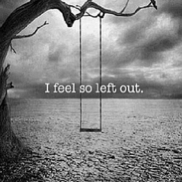 Quotes Feeling Sad And Alone: Best 25+ Left Out Ideas On Pinterest