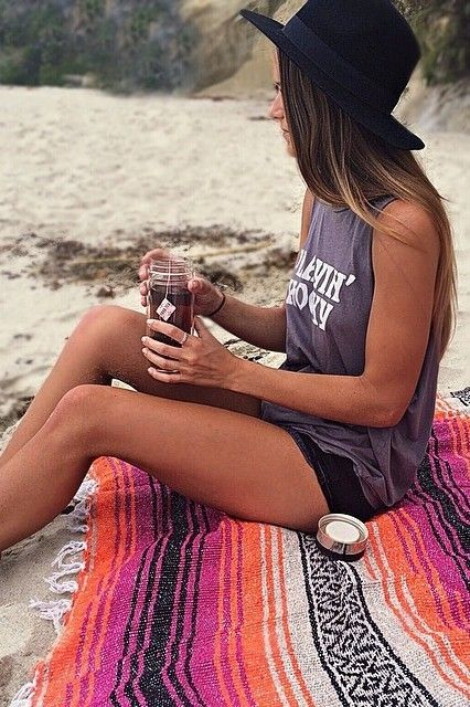 summer style at the beach