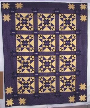 Let's Talk About Fabric, a Bear Paw Quilt Co. Blog » Crown Royal Quilt