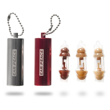 Hi-Fi Ear Plugs with a sweet key chain! Sale starts Monday 9/12. Click here to join the site and shop! http://fab.com/hrjsub