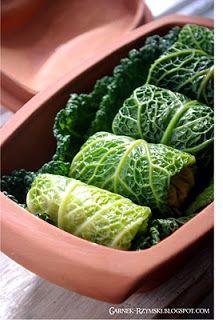 Garnek Rzymski: Gołąbki z pęczaku i warzyw