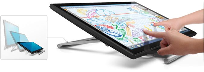 Dell 21.5'' Touch Monitor-Exceptional usability.