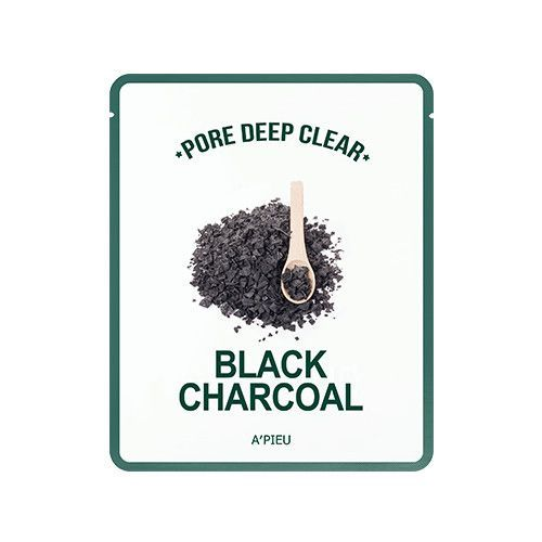 [APIEU] Pore Deep Clear Black Charcoal Mask