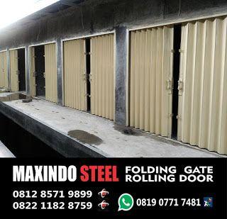 DAFTAR HARGA ROLLING DOOR DAN FOLDING GATE : Harga Folding Gate Rolling Door Daerah Jawa Barat