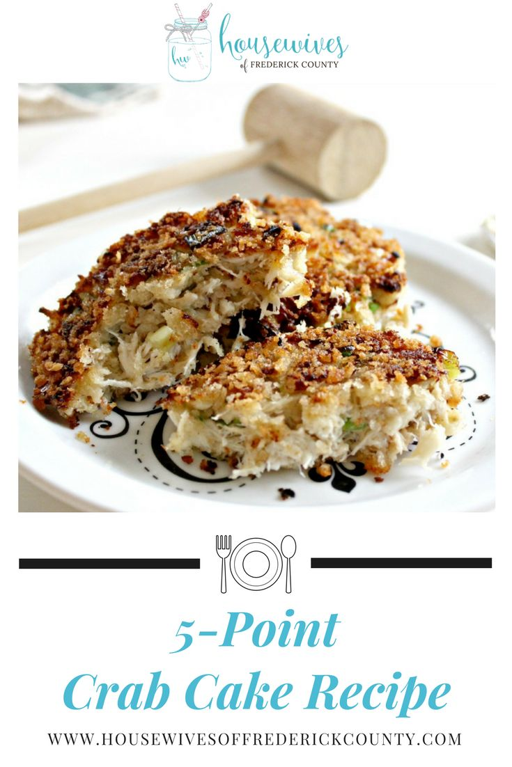 The best crab cake recipe and it's only 5 Weight Watchers points! Try this low calorie crab cake recipe