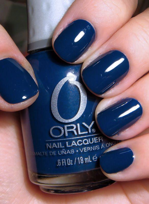 Orly - La Playa // a really good navy nail polish