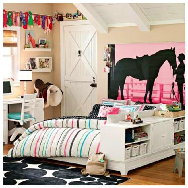 horse bedroom  horse room decor girls room design horse