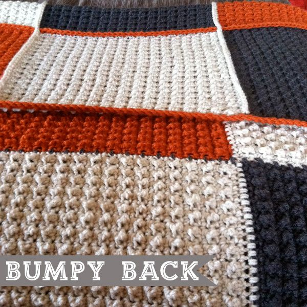 Blanket Stitch Knitted Squares Together : Note to self make squares on loom then crochet together. KNITTING LOOM Pi...