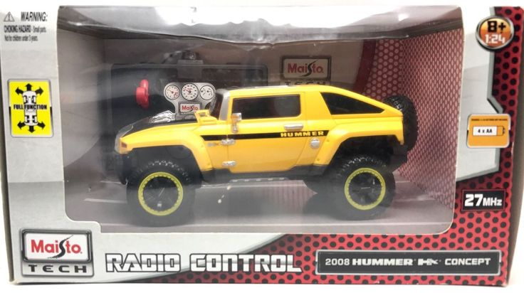 New item today Maisto Tech RC fu... found at  http://keywebco.myshopify.com/products/maisto-tech-rc-full-function-hummer-2008-hx-concept-1-24-new-car-in-box-2013?utm_campaign=social_autopilot&utm_source=pin&utm_medium=pin