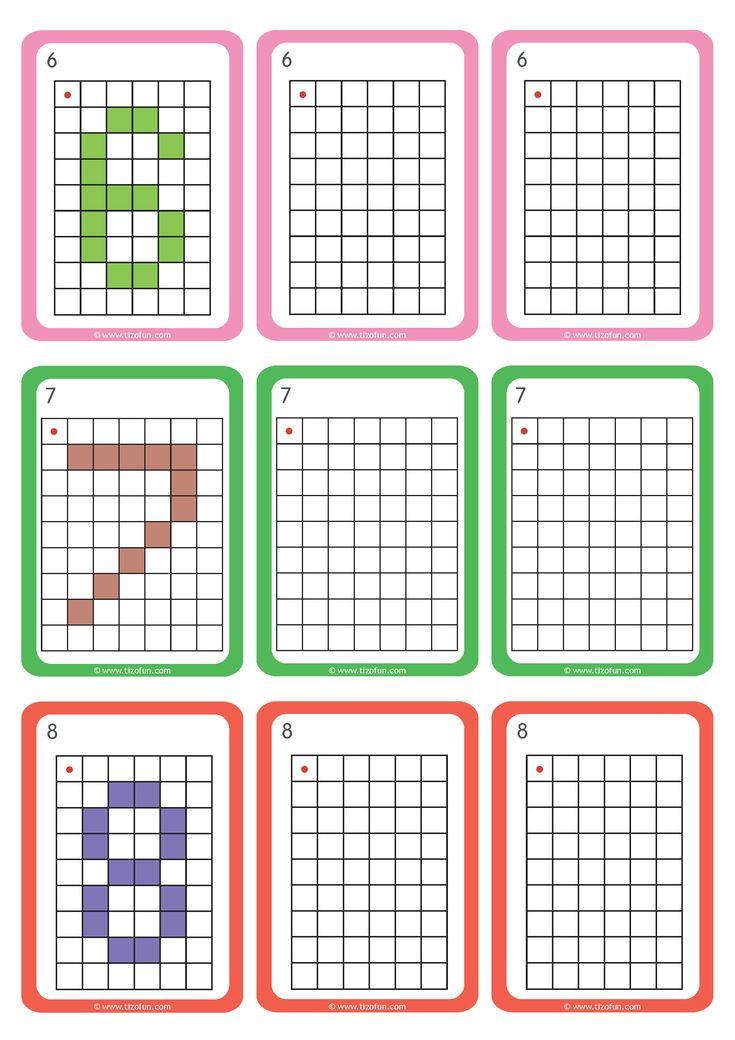 Les 62 meilleures images du tableau Dominos - Nombres Cacul Addition sur Pinterest   Pixel art ...