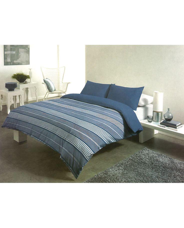 Gap cuenta con un diseño clásico de rayas azules y blancas. Funda nórdica perfecta para dormitorios juveniles y dar un estilo diferente a tu cama esta temporada