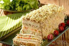 Receita de Torta fria de atum especial em receitas de tortas salgadas, veja essa e outras receitas aqui!